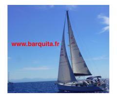 Navigation à la voile autours de Cannes