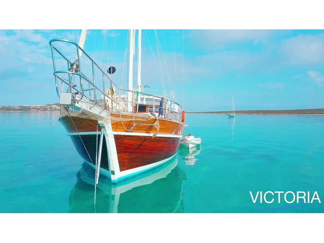 Luxury Blue Cruise Meditterean Sea with Gulet Victoria