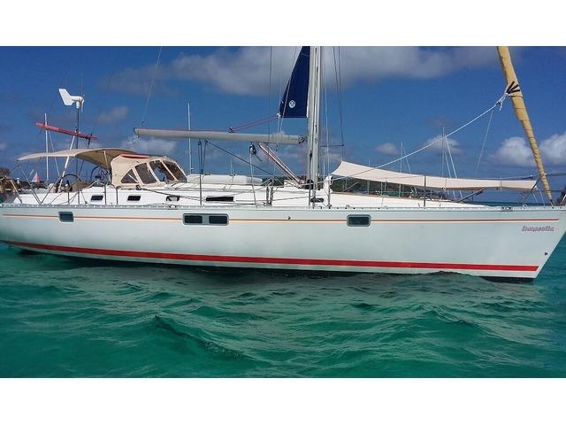 Co-navigation sur les iles de Guadeloupe