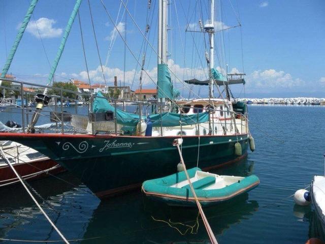 Johannall cortensteel ketch sailboat