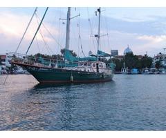 Johannall Coetensteel ketch sailboat